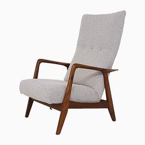 Poltrona reclinabile di Folke Ohlsson per DUX, anni '60