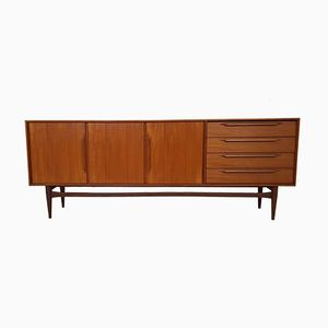 Type 214 Teak Sideboard by Heinrich Riestenpatt for RT Möbel, 1960s
