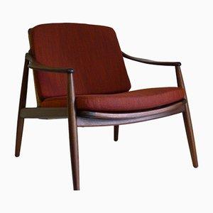 Model 400 Teak Lounge Chair by Hartmut Lohmeyer for Wilkhahn, 1950s