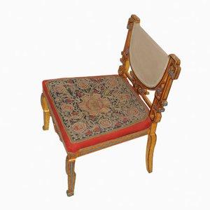 Chaise d'Appoint Antique, Tibet