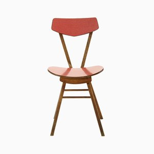 Czechoslovakian Chair in Wood & Formica, 1970s