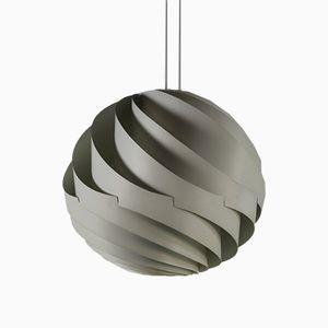 Lampe à Suspension Turbo par Louis Weisdorf pour Lyfa Denmark, 1965