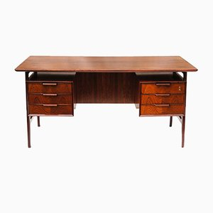 Vintage Modell 75 Schreibtisch von Gunni Omann für Omann Jun