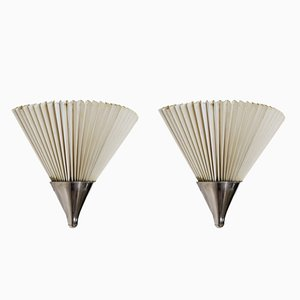 Wall Lights by Kaare Klint for Le Klint, 1960s, Set of 2