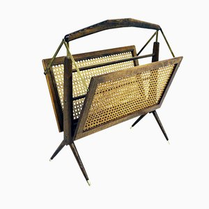 Collapsible Magazine Rack, 1950s