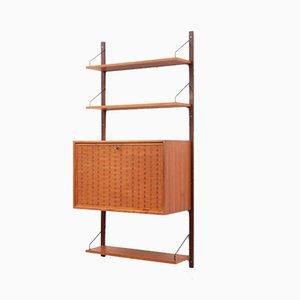 Wall Unit with Secretaire by Poul Cadovius for Cado, 1960s