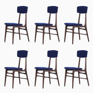 Dining Chairs by Pompeo Fumagalli-Mariano Comese, 1960s, Set of 6