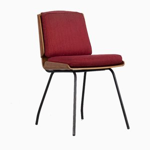 Lucania Chairs by Giancarlo de Carlo for Arflex, 1950s, Set of 8