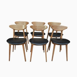 Fontania Chairs from Baumann, 1962, Set of 6