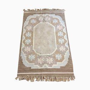 Scandinavian Rollakan Carpet, 1950s