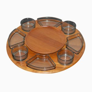 Danish Rotating Tray from Digsmed, 1960s