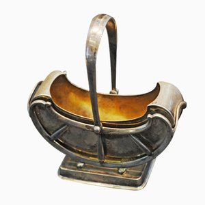 Austrian Silver Sugar Bowl, 1840s