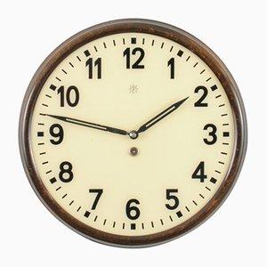 Bauhaus Wall Clock from Junghans, 1930s