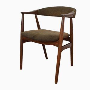 Dänischer Beistellstuhl aus Teak von Thomas Harlev für Farstrup Møbler, 1958