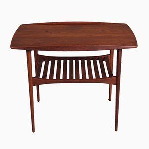 Table d'Appoint ou Table Basse Modèle FD 510 Mid-Century Moderne en Teck par Tove and Edvard Kindt-Larsen pour France & Søn