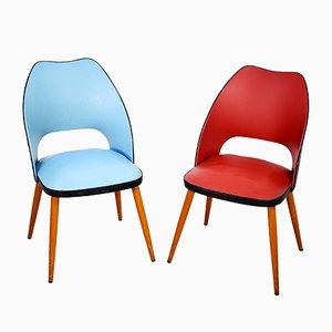 Italian Kitchen Chairs, 1950s, Set of 2
