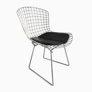 Chaise d'Appoint Vintage Chrome par Harry Bertoia pour Knoll International, 1950s
