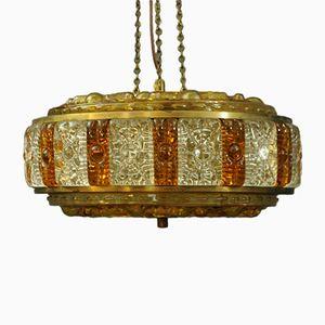 Lampe à Suspension Mid-Century de Orrefors, Suède