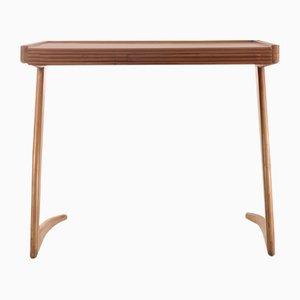 Tavolo basso in legno, anni '50