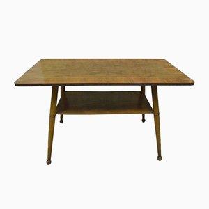 Table Basse avec Étagère, 1950s