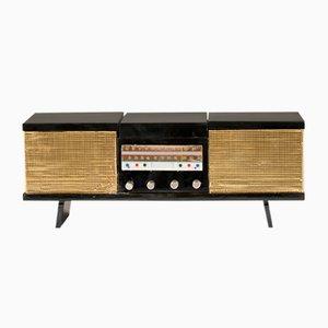 Mueble para equipo de sonido, años 50