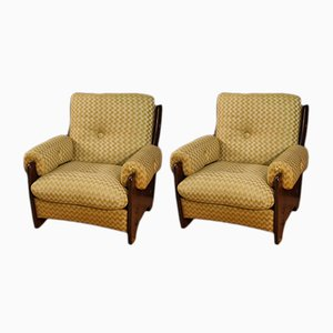 Italian Armchairs by Rossi di Albizzate, 1970s, Set of 2