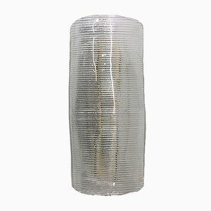 Lámpara de pared Cordonato de vidrio de Carlo Scarpa para Venini, años 40