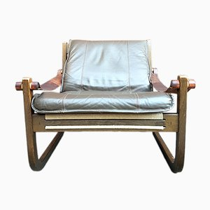 Vintage Safari Chair by Yngve Ekström for Swedese