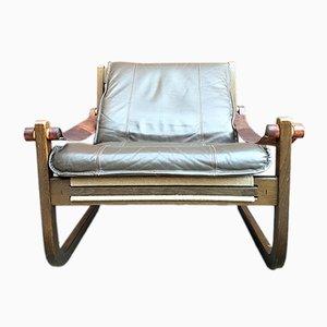 Vintage Safari Stuhl von Yngve Ekström für Swedese