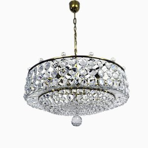 Vintage Viennese Crystal Chandelier with Swarovski Crystals