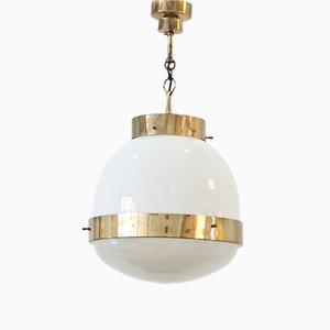 Delta Grande Ceiling Lamp by Sergio Mazza for Artemide, 1960s