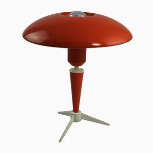 Lámpara de mesa pequeña de Louis Kalff para Philips, años 50