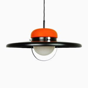 German Ceiling Lamp from Erco, 1970s