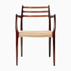 Modell 62 Sessel aus Palisander von N. O. Møller für J.L. Møllers, 1962