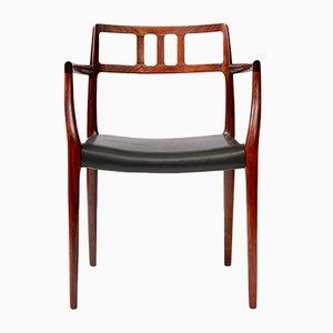 Modell 64 Sessel aus Palisander von N. O. Møller für J.L. Møllers, 1962