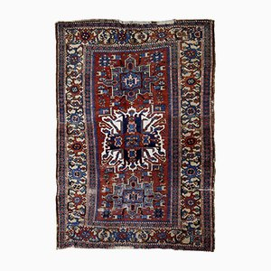 Antique Handmade Rug, 1890s