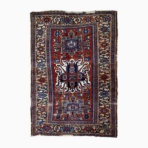 Handgefertigter antiker Teppich, 1890er