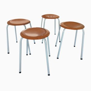 Industrial Stools from Marko, 1960s, Set of 4