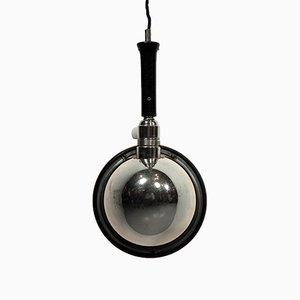Vintage Nickel-Plated Photographic Lamp