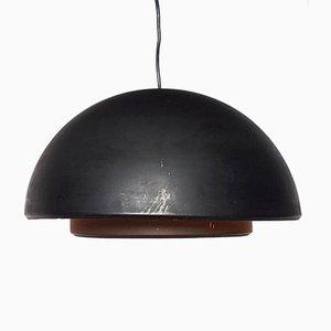 Lámpara colgante holandesa de metal de Dijkstra, años 70