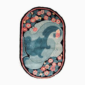 Tapis Fait Main Art Deco, Chine, 1920s