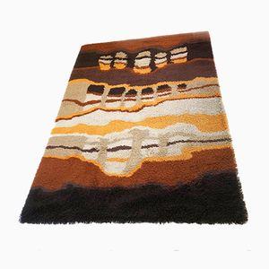 Großer hochfloriger niederländischer Teppich von Desso, 1970er