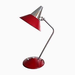 Lámpara de escritorio alemana vintage de HELO, años 60