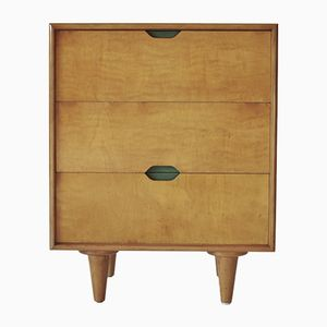 Mid-Century Beech & Maple Dresser