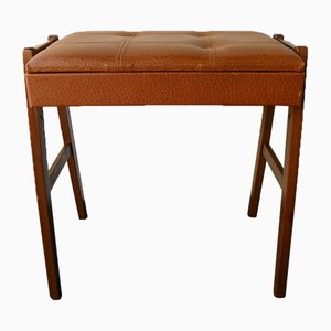 Vintage Piano Stool with Storage Space