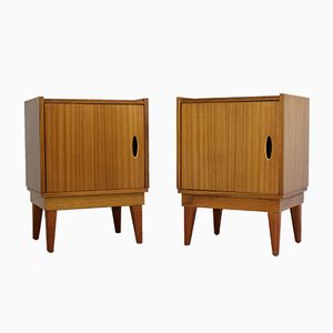 Mid-Century Teak Bedside Cabinets by Frank Guille for Austinsuite, Set of 2