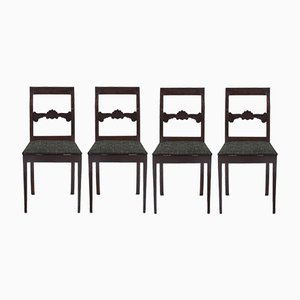 Customizable Antique Dining Chairs, Set of 4