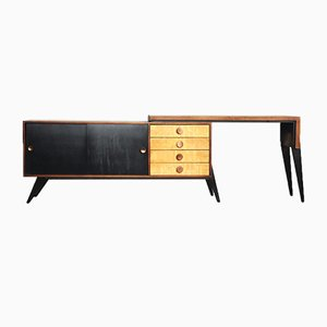 Sideboard with Movable Desk, 1950s