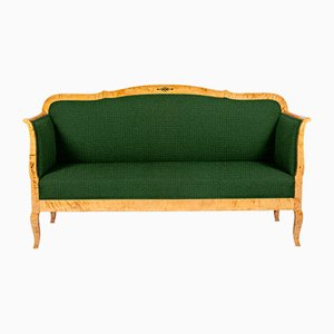 Customizable Swedish Carl-Johan Style Sofa, 1900s