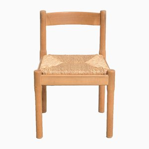 Vintage Carimate Cane Dining Chair by Vico Magistretti for Cassina